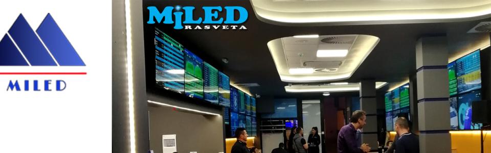Miled profesionalna LED rasveta, projekti i zadovoljni klijenti