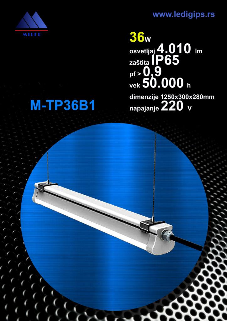 LED Tri-proof 36w