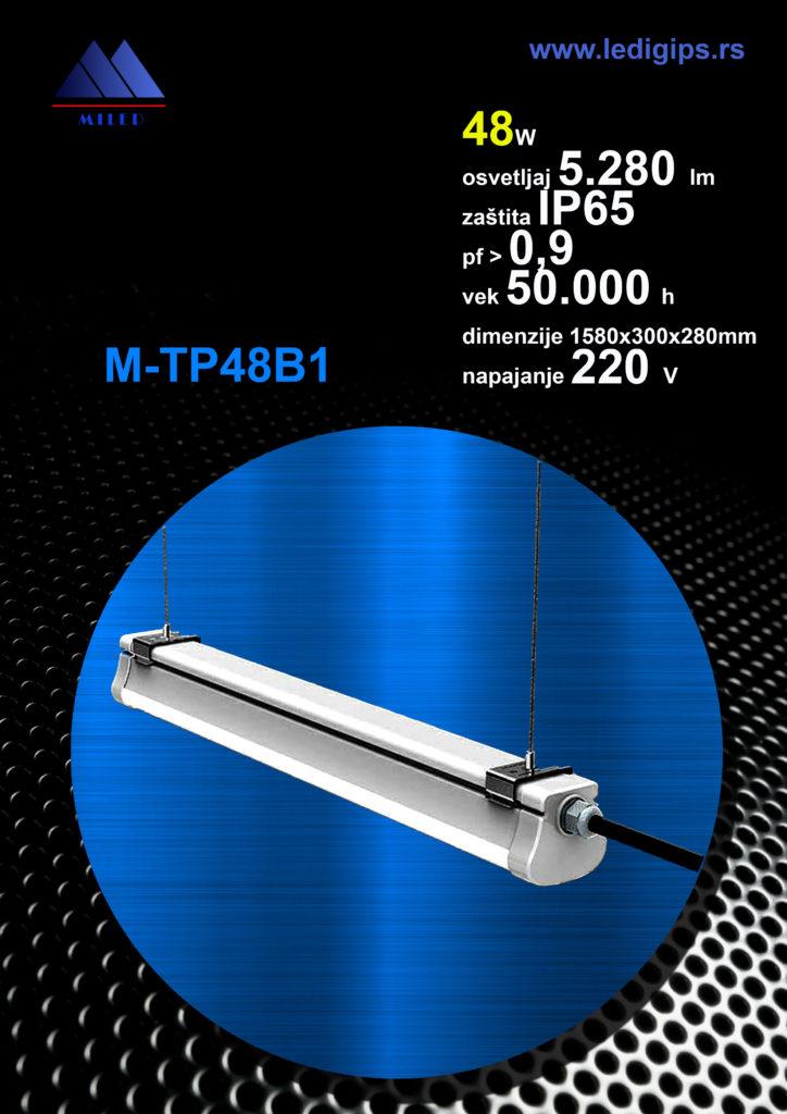 LED Tri-proof snage 48w