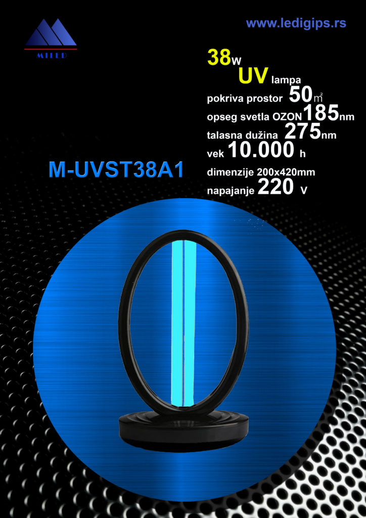 UV 38W