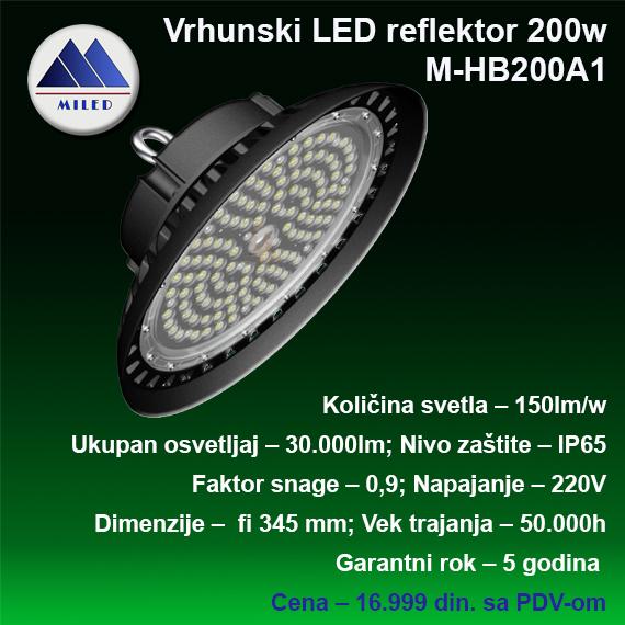 High Bay reflektor 200w