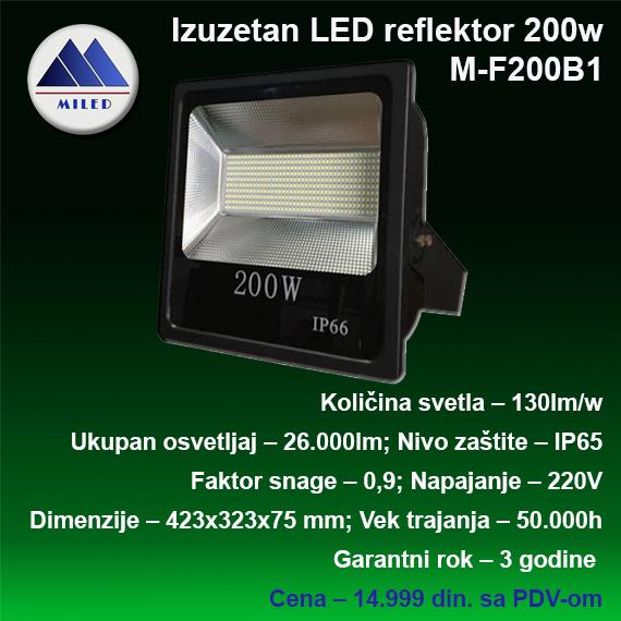 Reflektor 200w